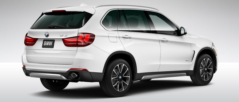 2017 BMW X5 XDrive 35i Exterior Rear White