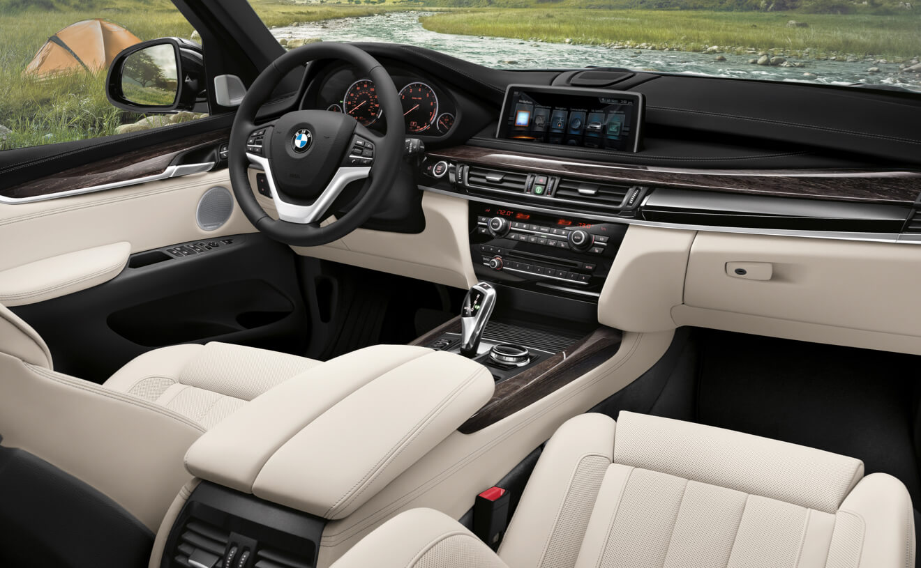 2017 BMW X5 xDrive50i Two Tone Interior
