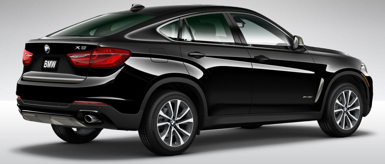2016 BMW X6 XDrive35i Exterior Rear Black