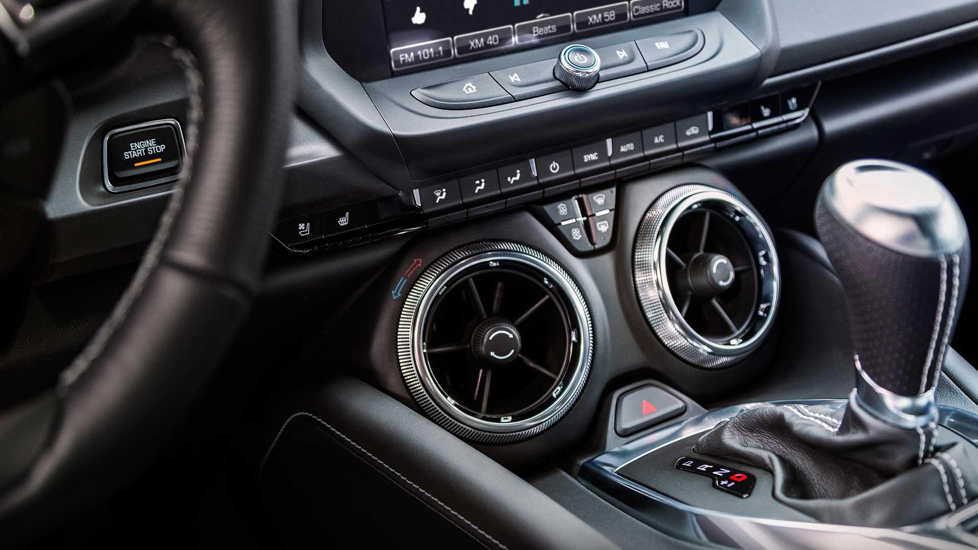 2017 Chevrolet Camaro Interior Side