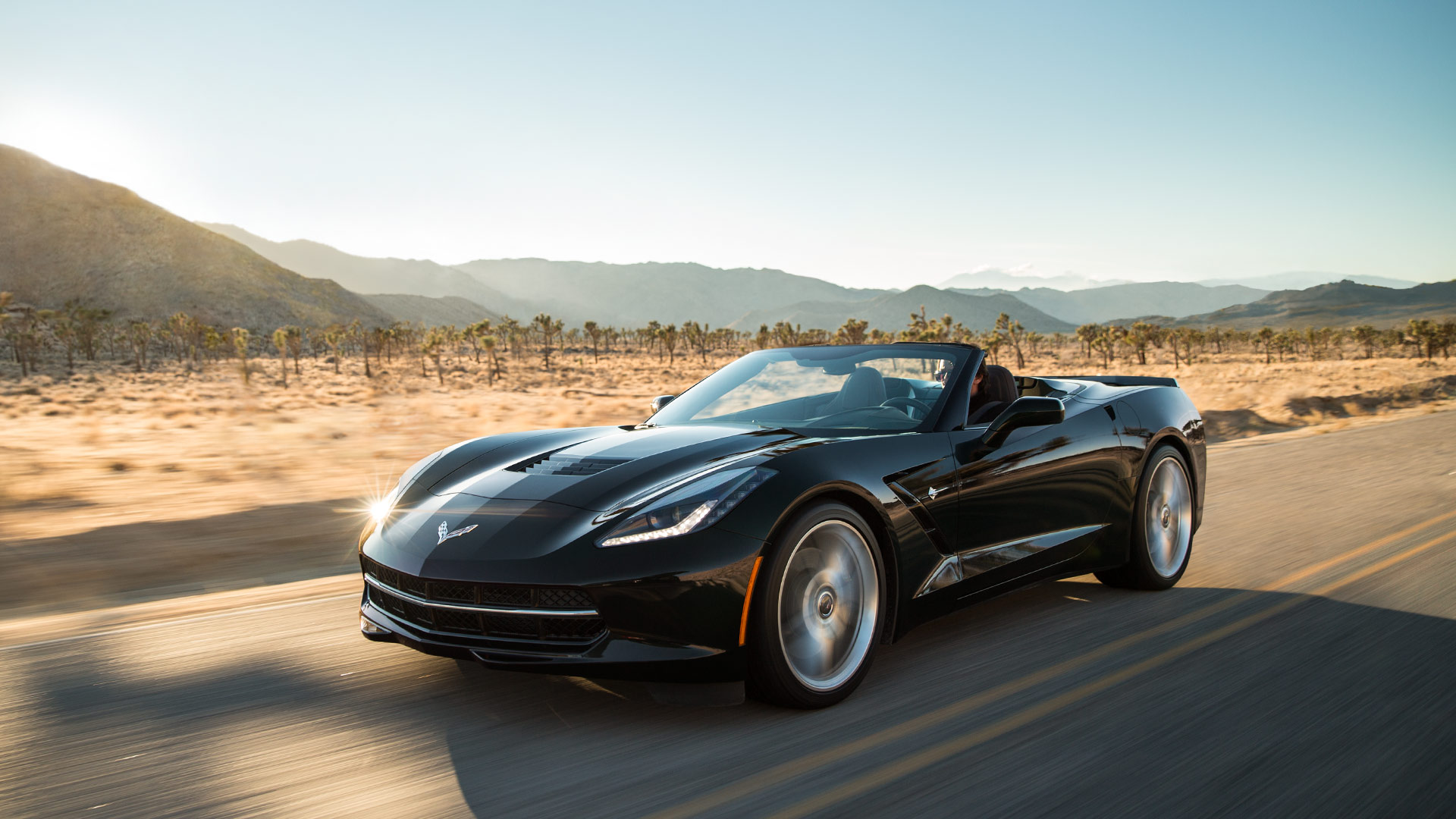 2017 Chevrolet Corvette Stingray Black Exterior