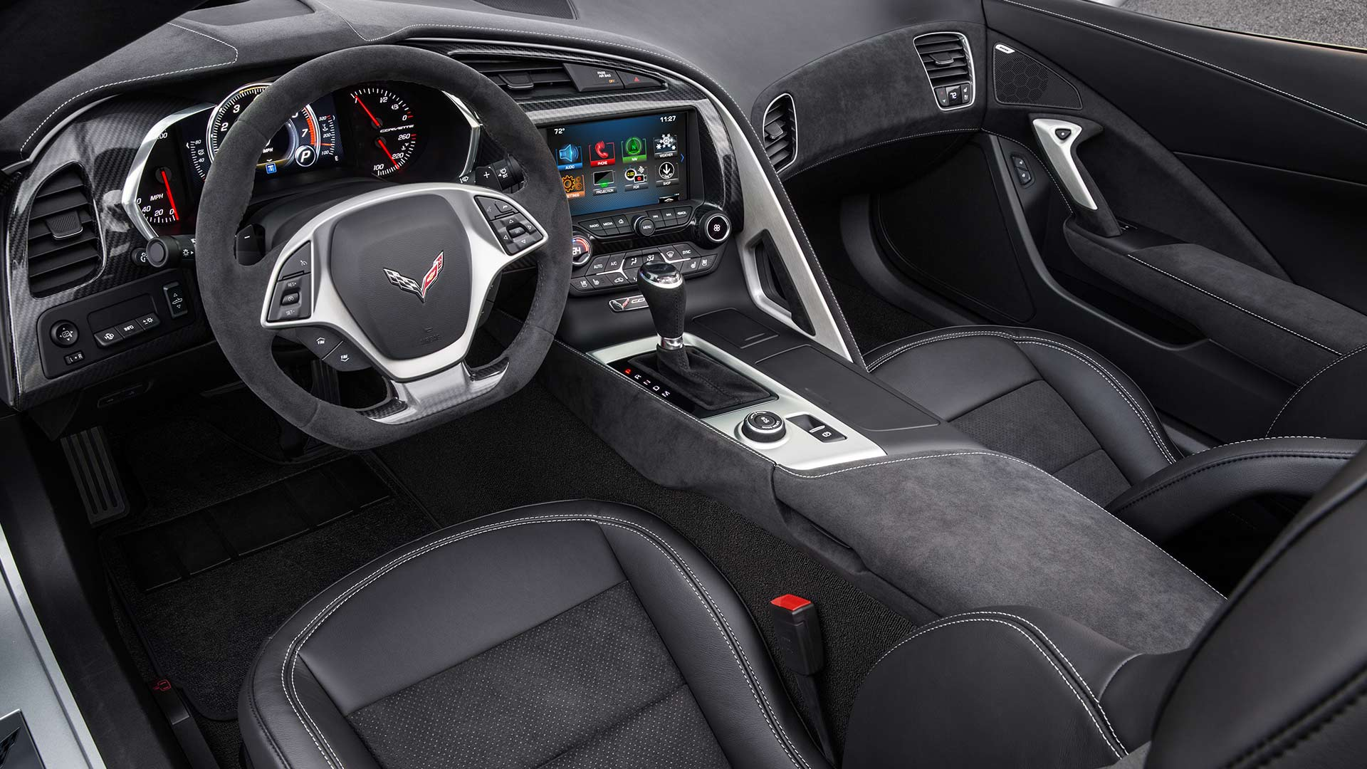 2017 Chevrolet Corvette Stingray Interior