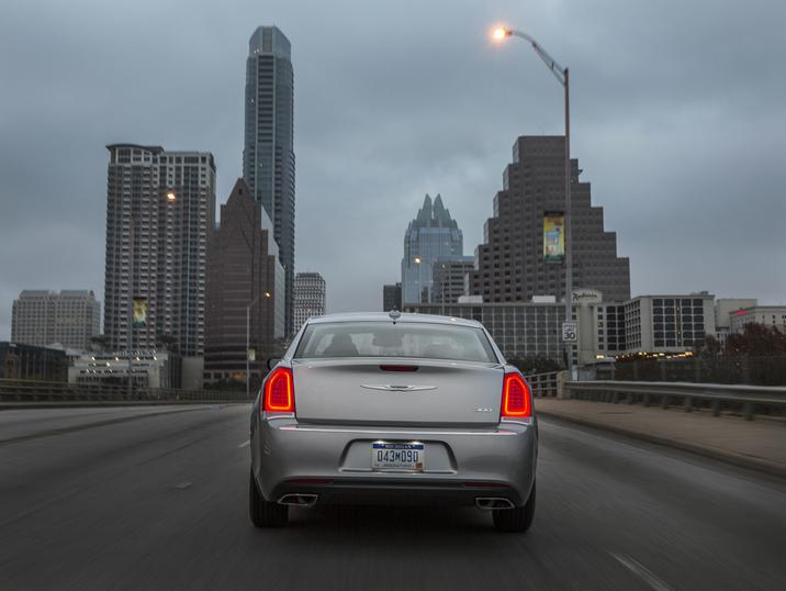 2017 Chrysler 300 Limited Rear Gray Exterior