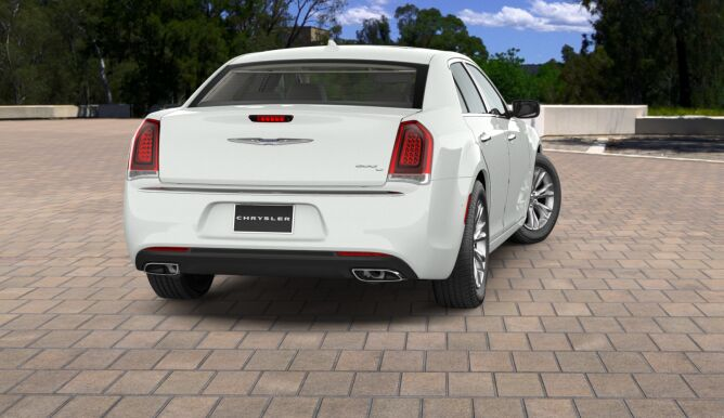 2017 Chrysler 300C White Rear Exterior