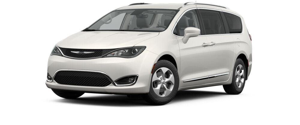 2017 Chrysler Pacifica Touring L Plus White Front Exterior