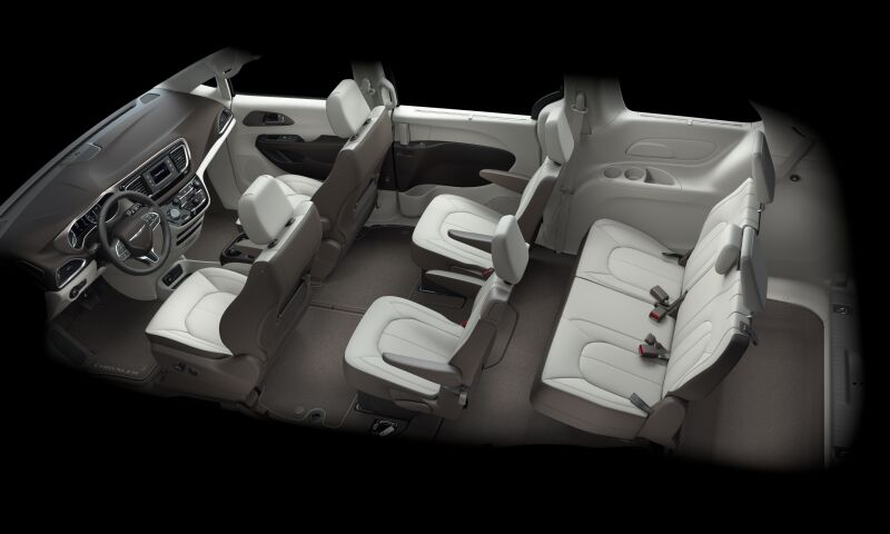 2017 Chrysler Pacifica Touring L Interior