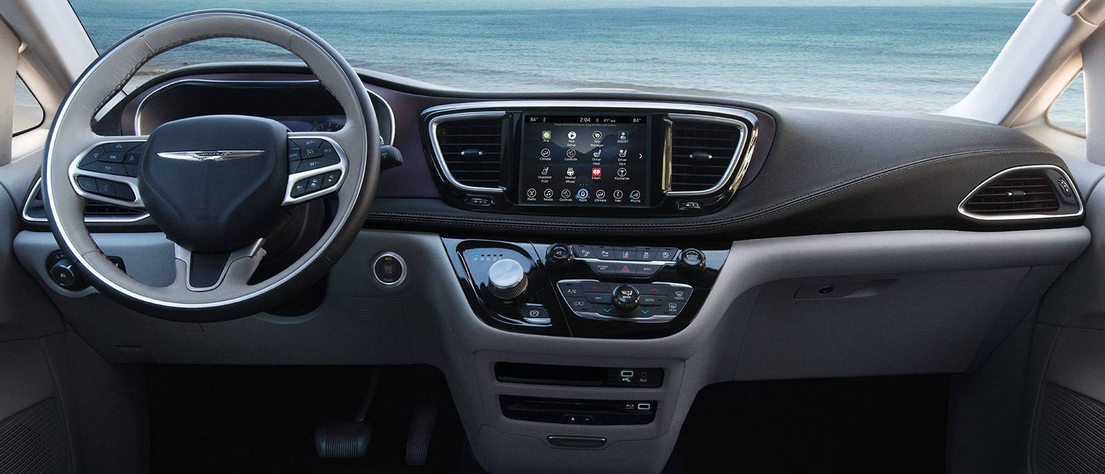 2017 Pacifica Touring Interior