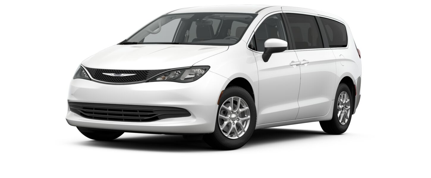 2017 Pacifica Touring White Exterior