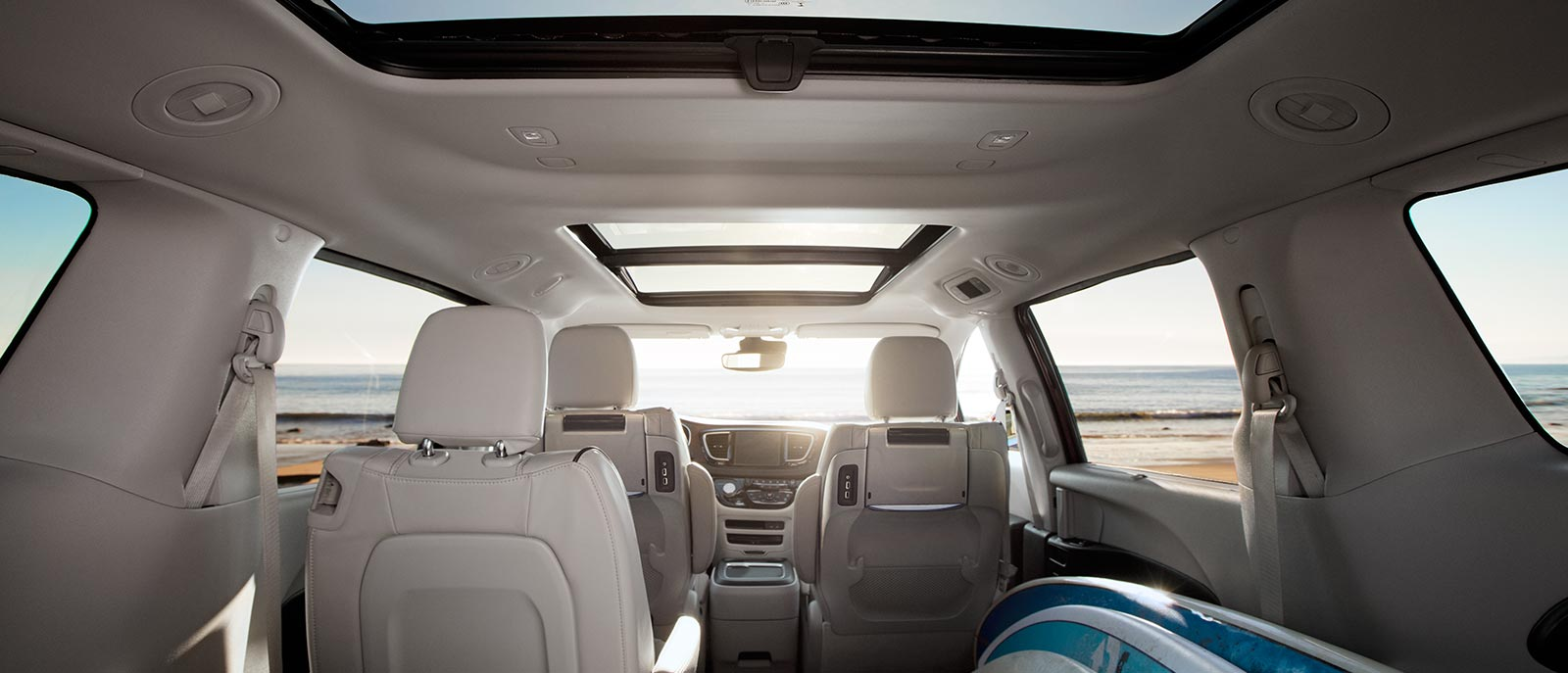 Interior Front View Seating Pacifica