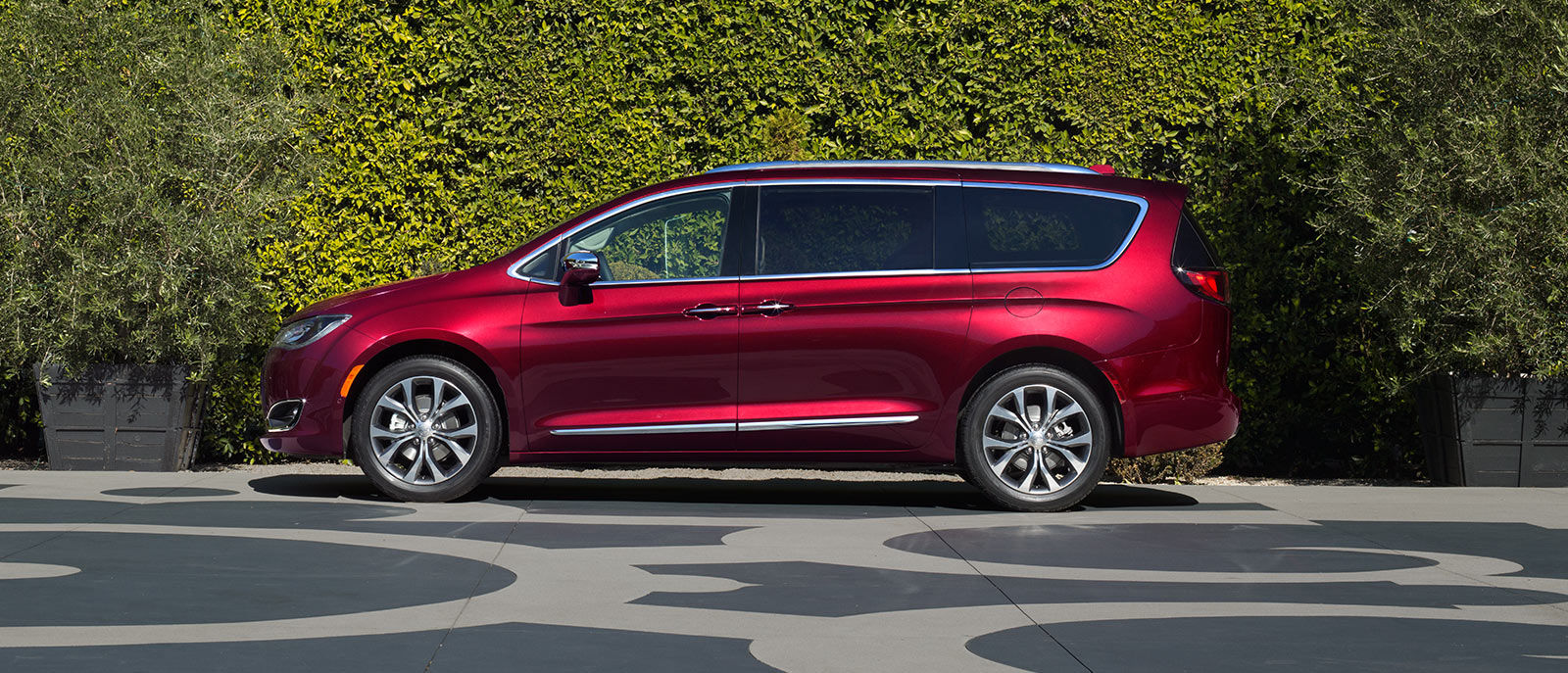 Red Pacifica Side Exterior