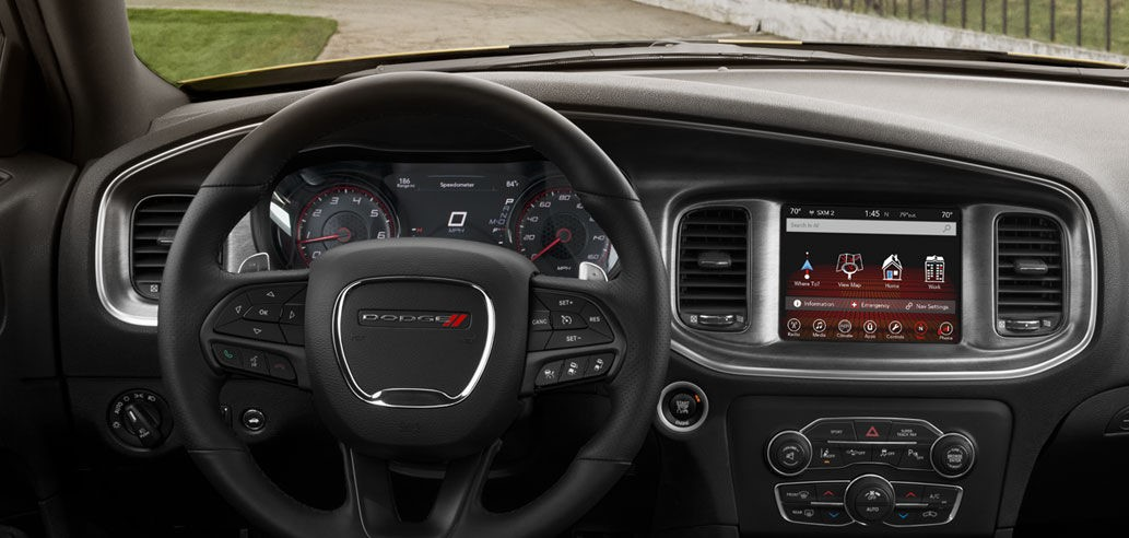 Dodge Charger Daytona 2017 Interior