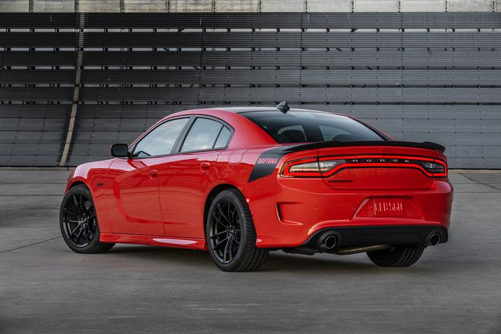 2017 Dodge Charger Daytona 392 Red Exterior Rear