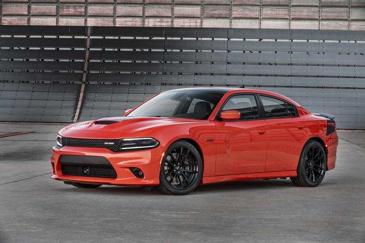 2017 Dodge Charger Daytona 392 Front Exterior Red