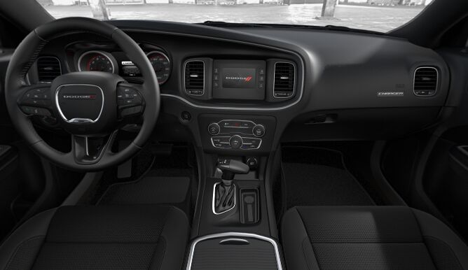 2017 Dodge Charger SE Dashboard Interior