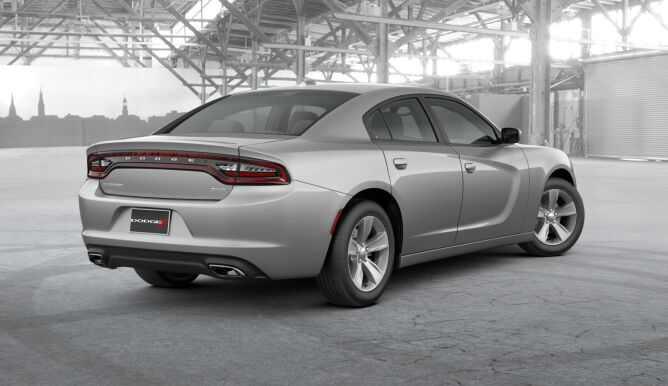 2017 Dodge Charger SXT Gray Rear Exterior