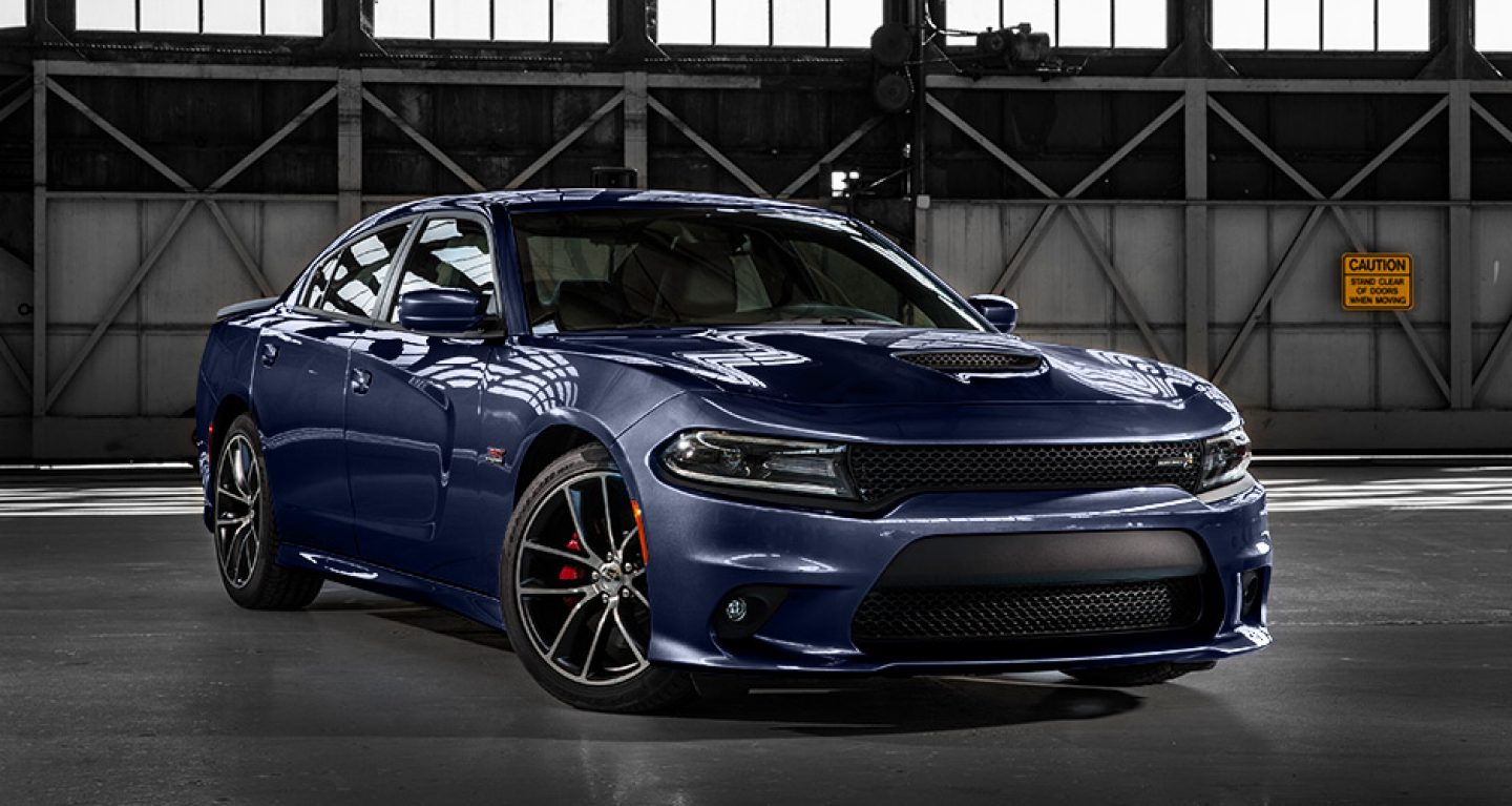 2017 Dodge Charger Blue Side Exterior