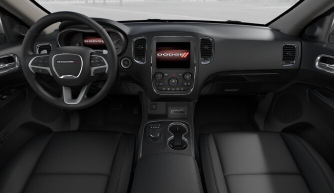 2017 Dodge Durango GT Interior Dashboard