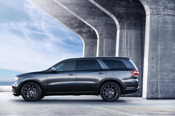 2017 Dodge Durango Side Profile Exterior Gray