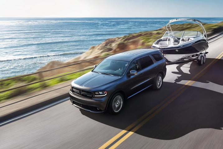2017 Dodge Durango Towing Power Exterior Gray