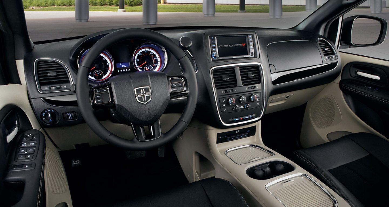 2017 Dodge Grand Caravan Sxt Interior Dash And Steering