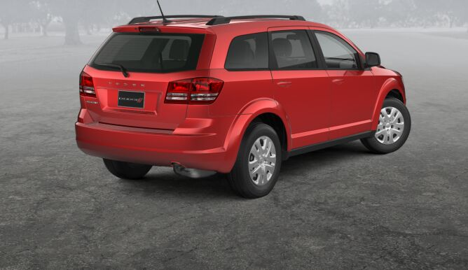 2017 Dodge Journey SE Rear Exterior