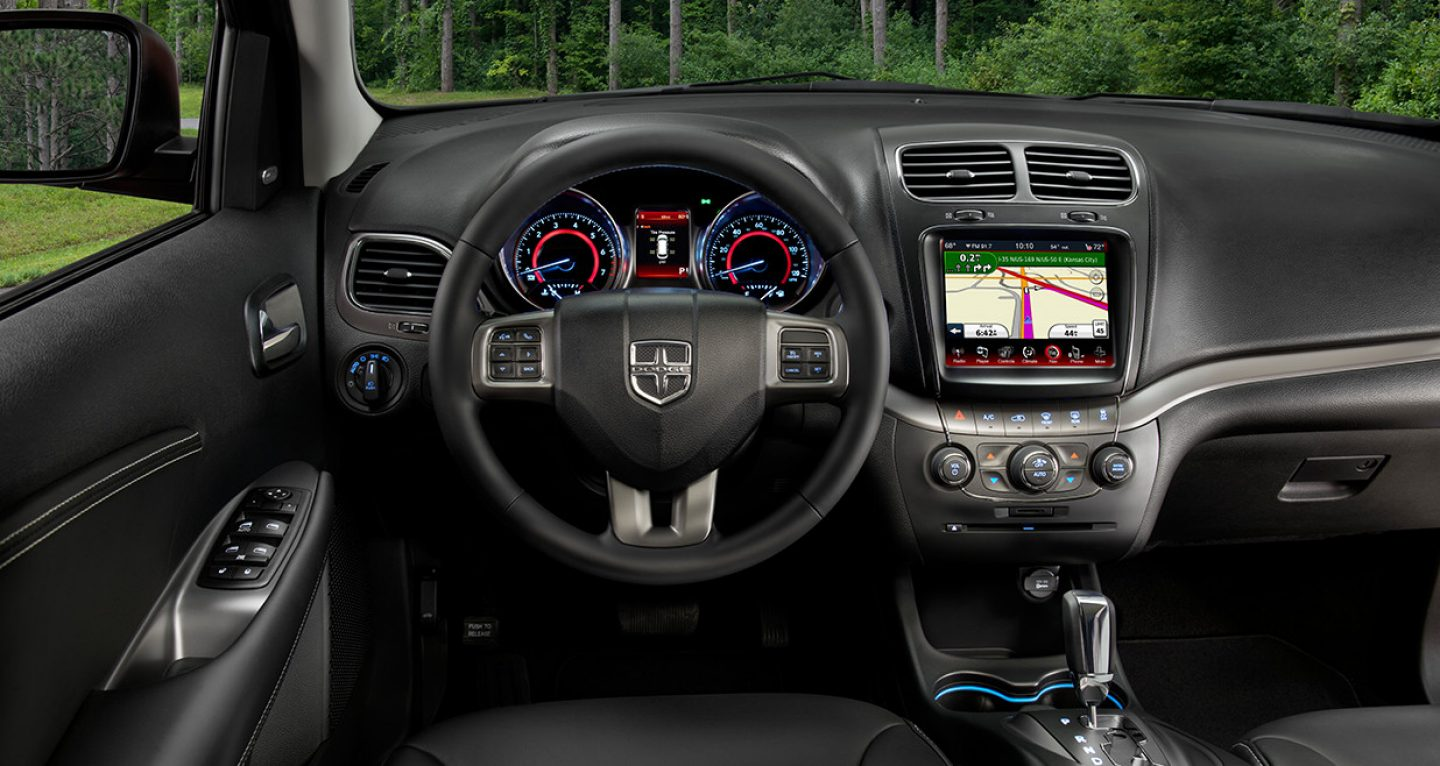 2017 Dodge Journey Front Interior