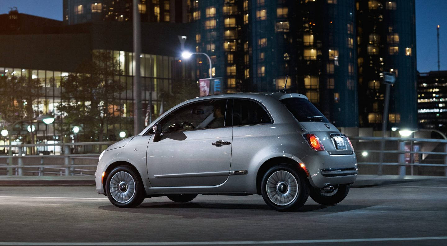 2017 FIAT 500 Side Exterior