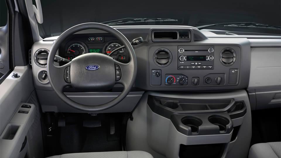 2017 Ford E 350 Dashboard Interior