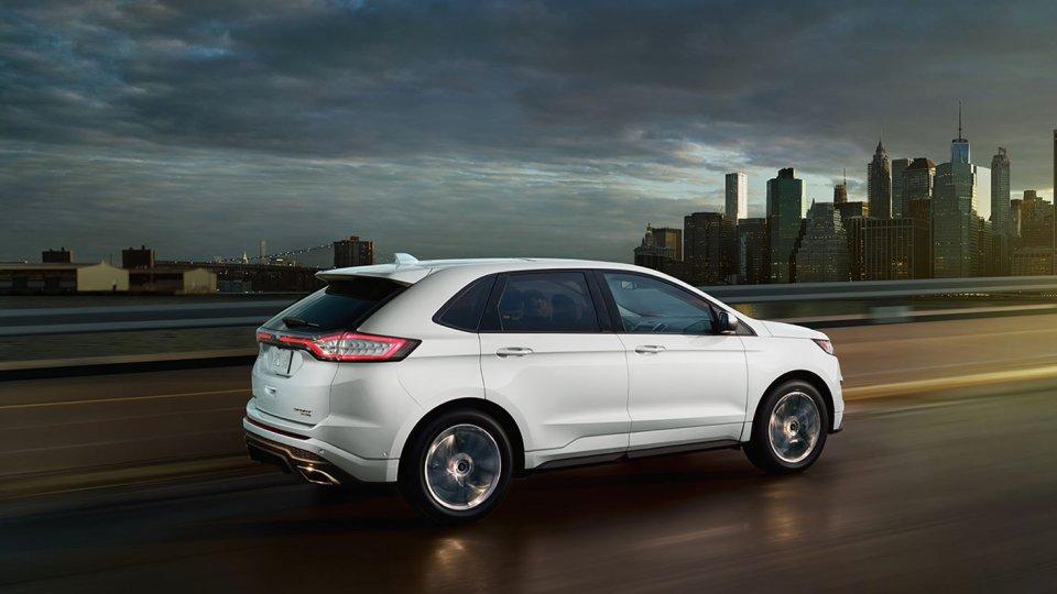 Ford Edge Exterior Rear White