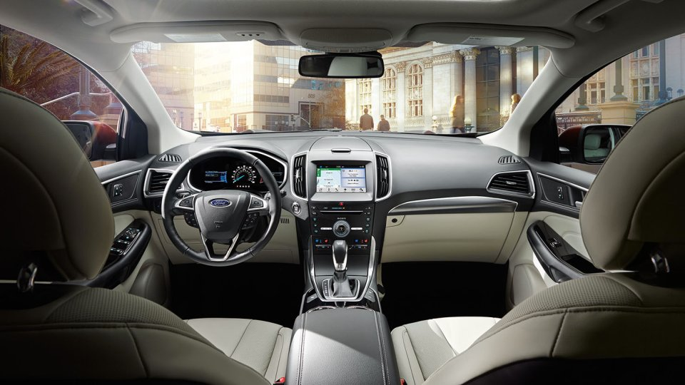 2017 Ford Edge Interior Rear