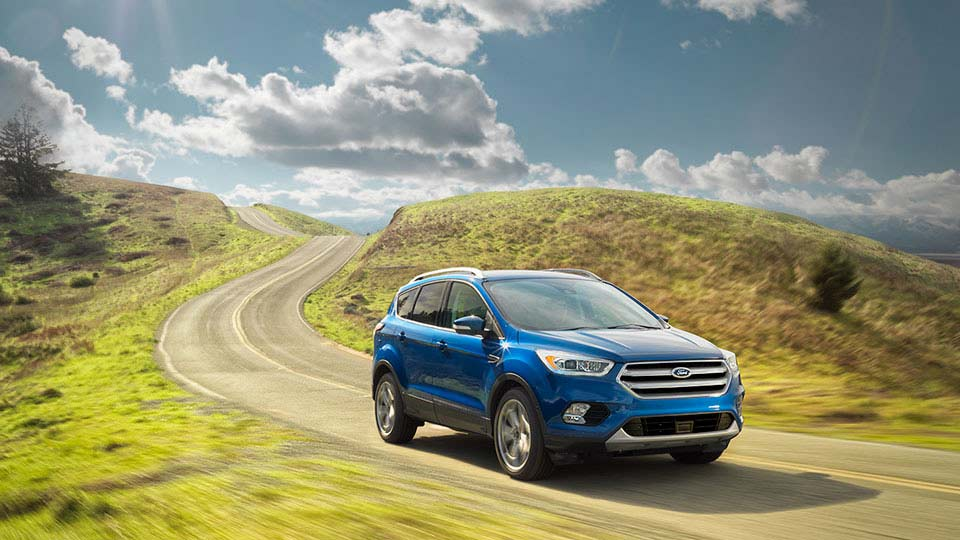 2017 Ford Escape Front Exterior Blue