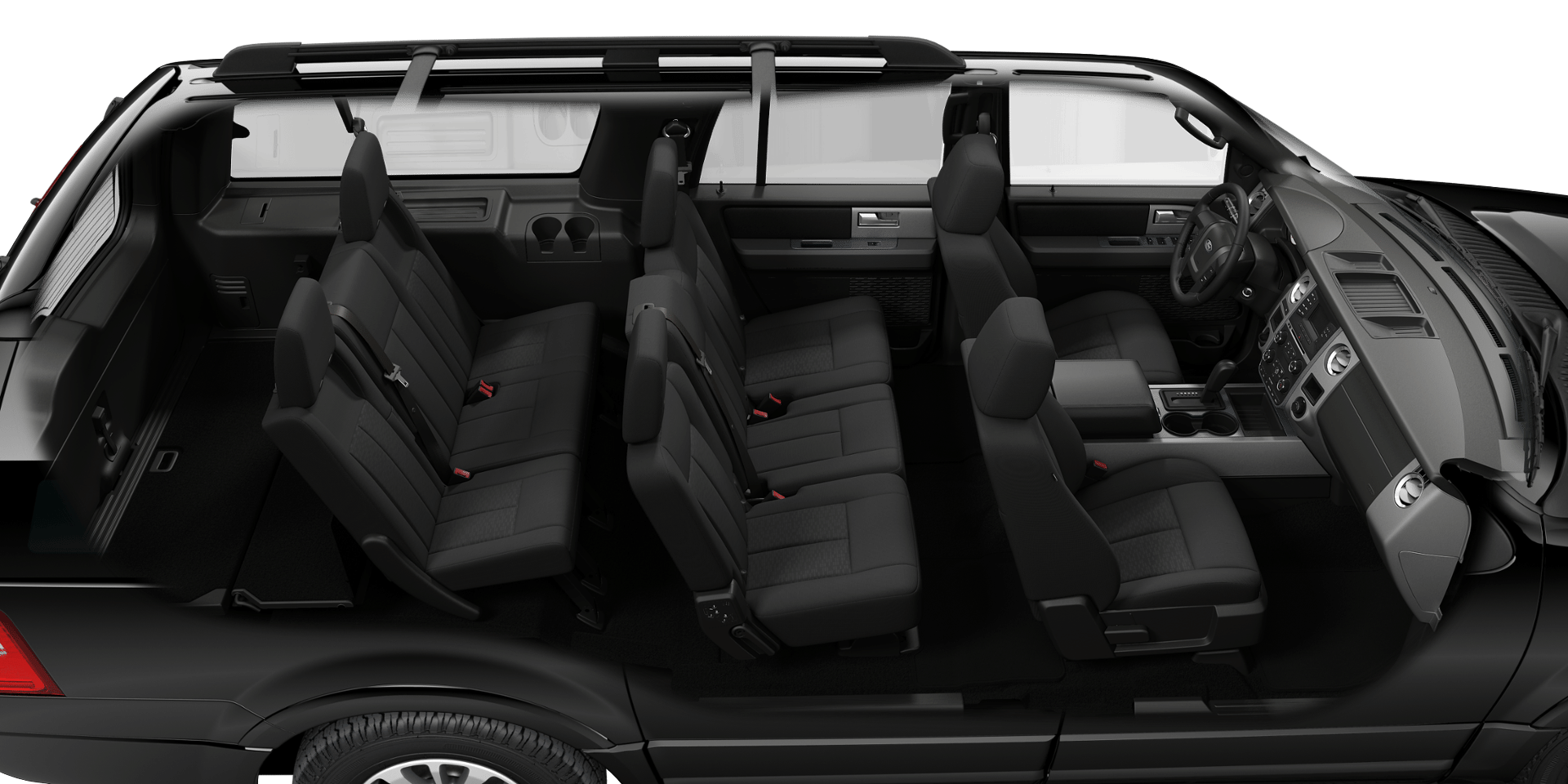 Ford Expedition El Interior Overview Png