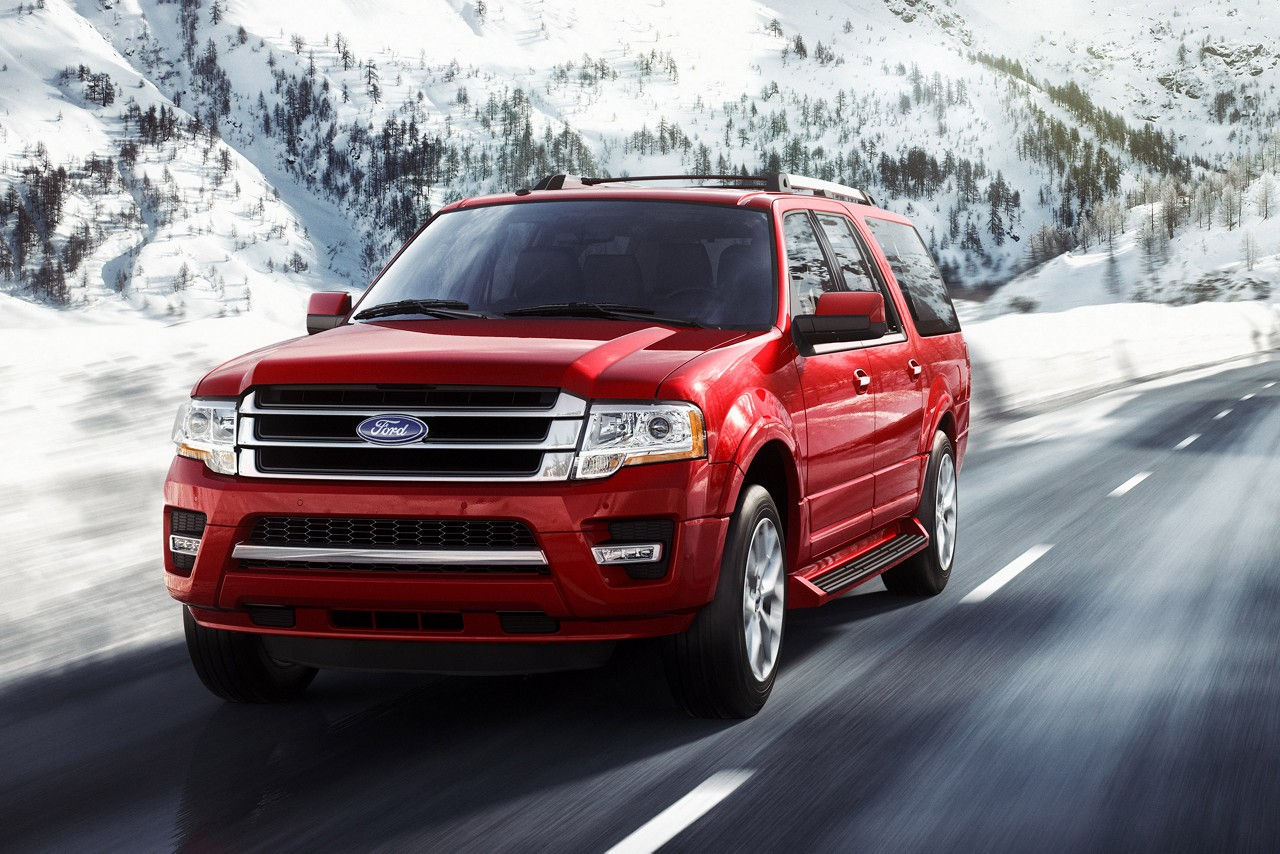 Ford Expedition Limited Front Red Exterior Jpeg