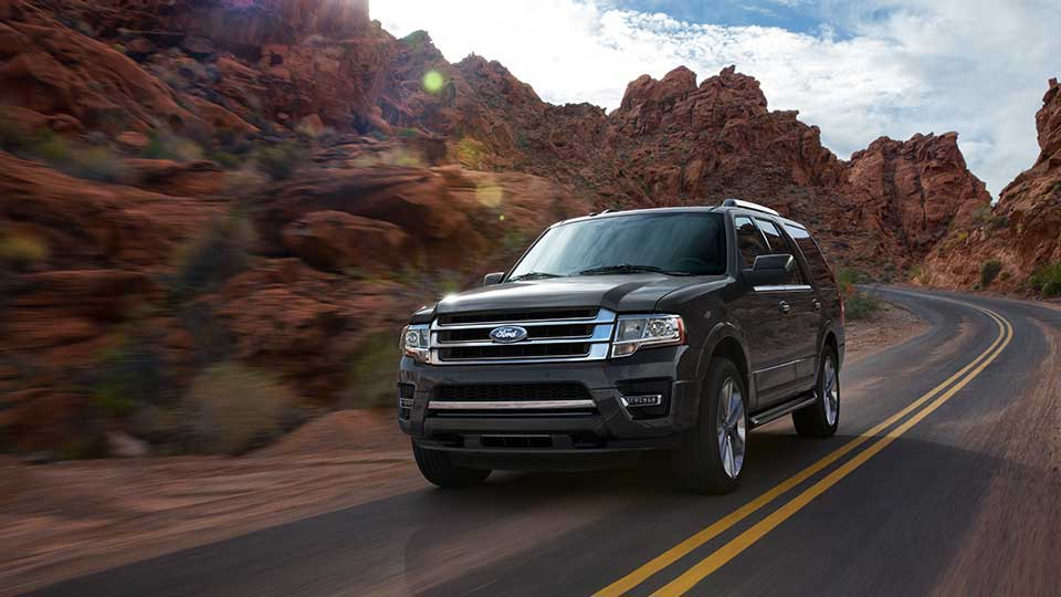 2017 Ford Expedition Black Exterior