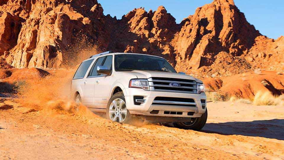 2017 Ford Expedition White Exterior