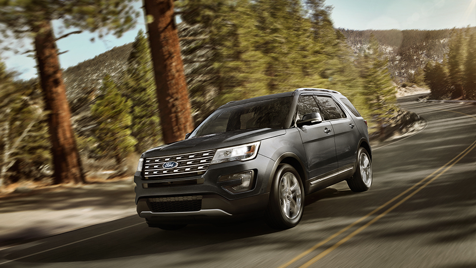 2017 Ford Explorer Exterior Gray