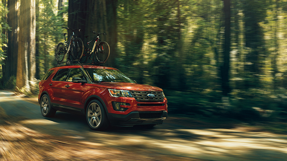 2017 Ford Explorer Red Exterior