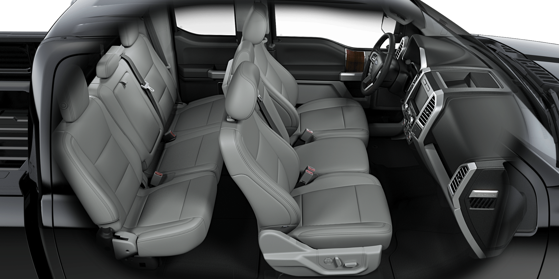 2017 Ford F 150 Lariat Interior Aerial View Png