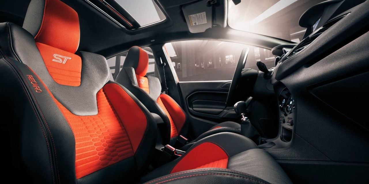 2017 Ford Fiesta ST Seating Interior