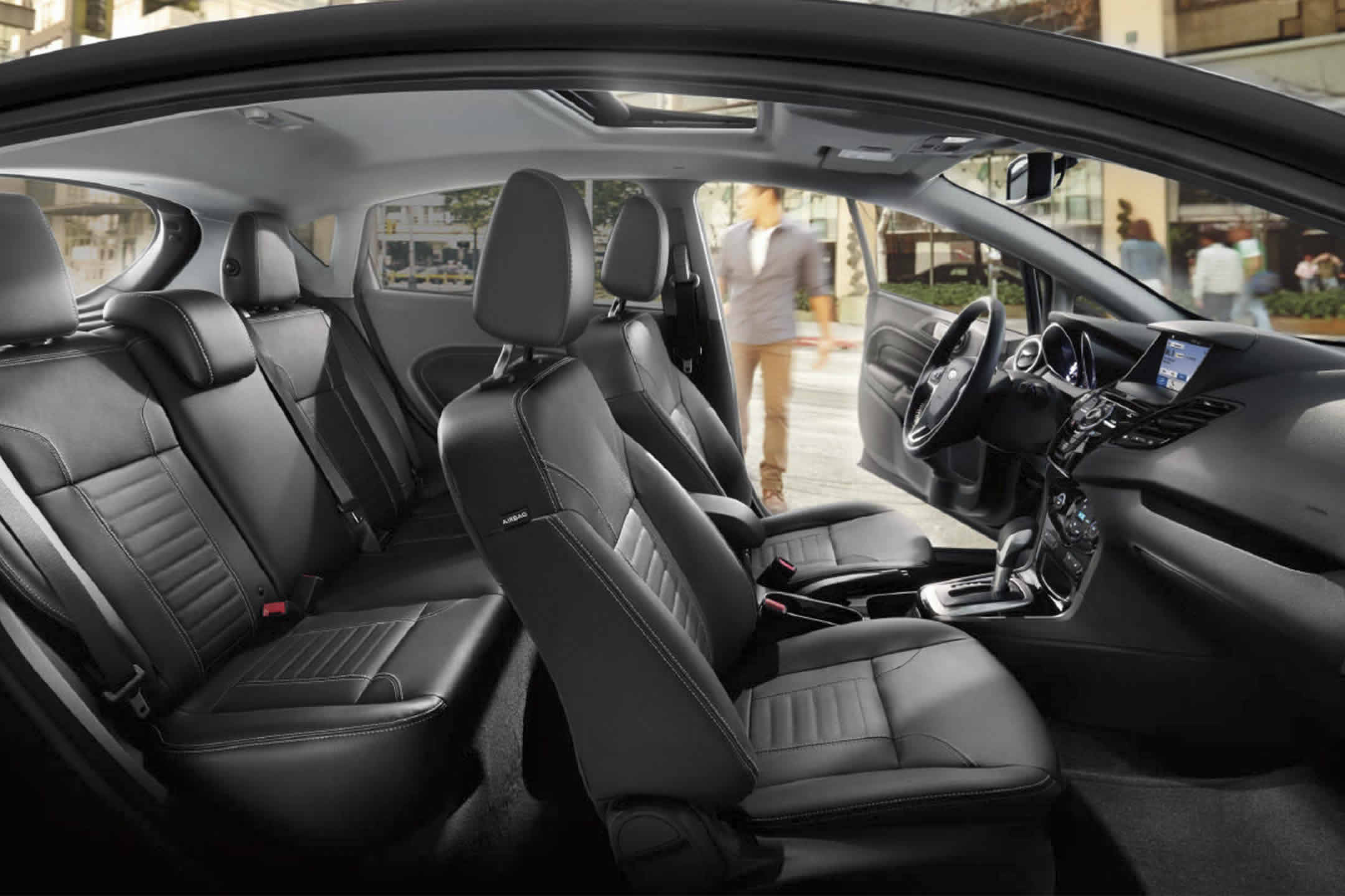 2017 Ford Fiesta Side Seating Interior