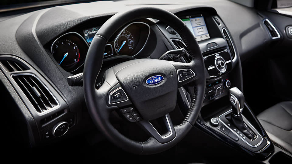 2017 Ford Focus Interior Dash View