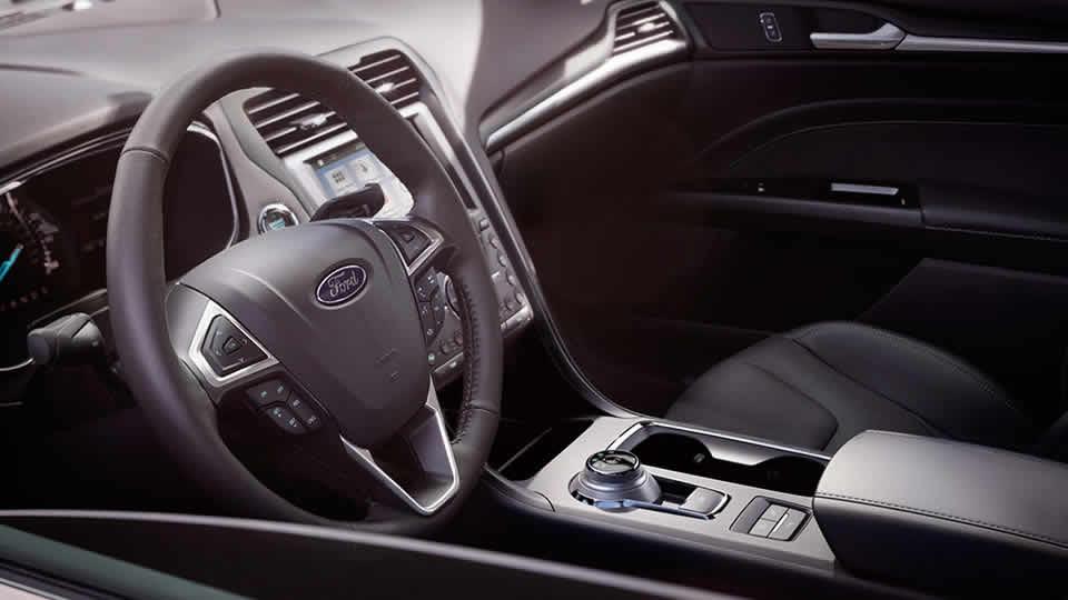2017 Ford Fusion Hybrid S Interior