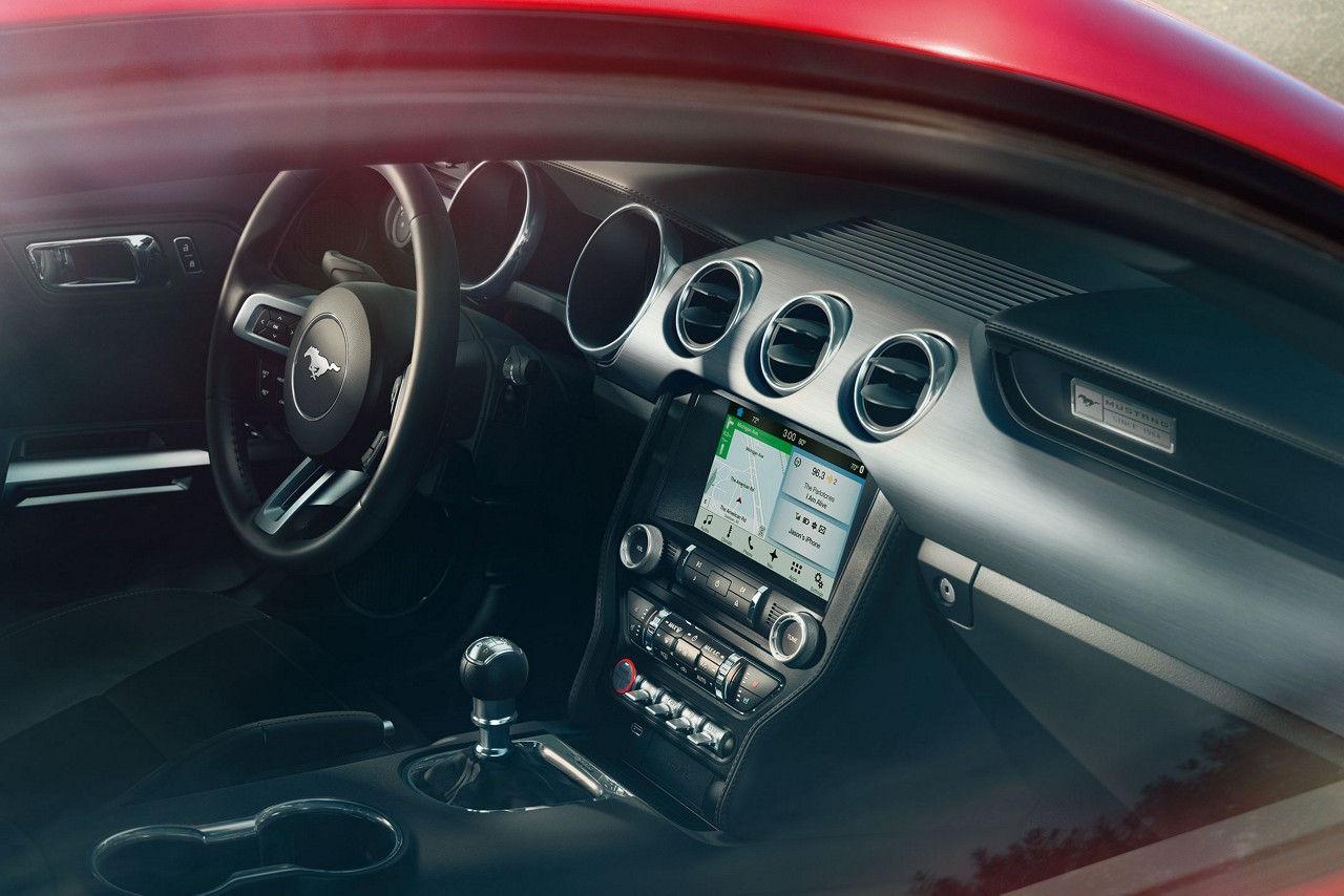 2017 Ford Mustang Gt Dashboard Interior Jpeg