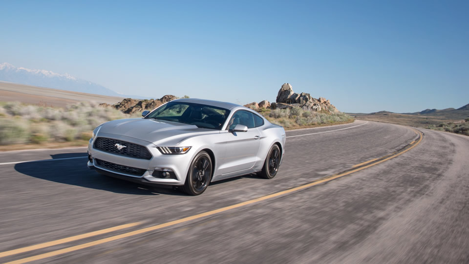 2017 Ford Mustang Front Exterior Silver