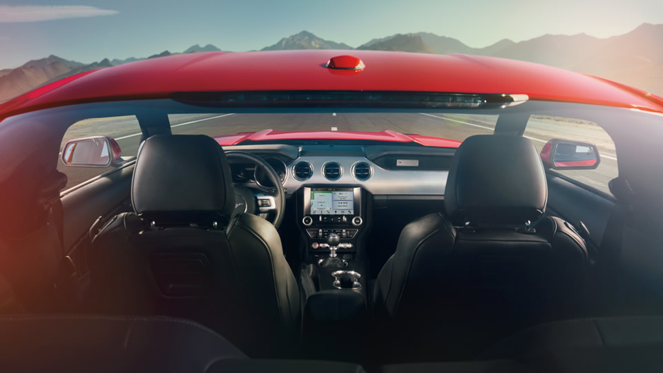 2017 Ford Mustang Interior Details