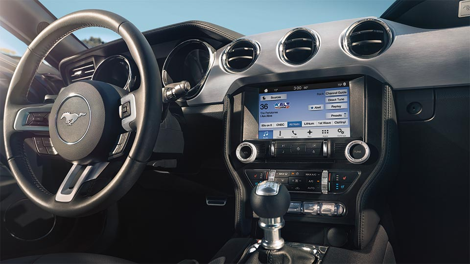 2017 Ford Mustang Sideview Interior Detail