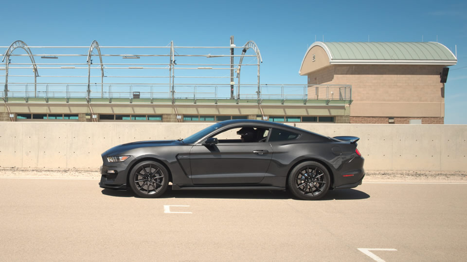 2017 Ford Mustang Side Exterior Gray