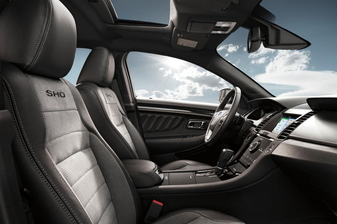 2017 ford taurus sho seating interior jpeg