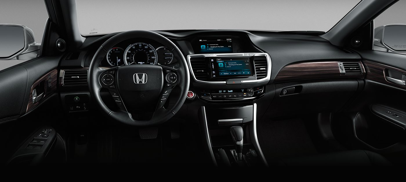 2017 honda accord touring interior