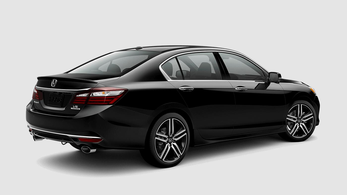 2017 Honda Accord Touring Rear Exterior